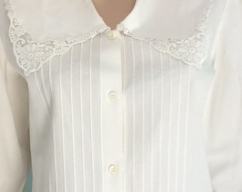 "70's,Colonial Blouse,Size 10,""Herman Geist""-#31"