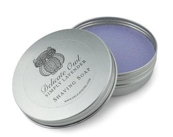 Simply lavender shaving vegan soap 100g