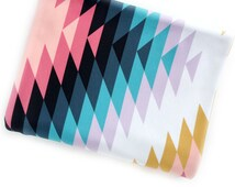 Swaddle Blanket Bohemian Native Rug, Gender Neutral Nursery, Cot Sheet, Navajo, Chevron, Stroller Cover, Organic