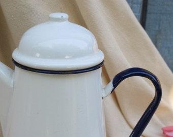 Former Brewer in white enamel