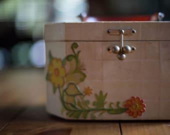 Vintage 1960s Wooden Box Purse | Handbag | Box Bag by C. Whessy