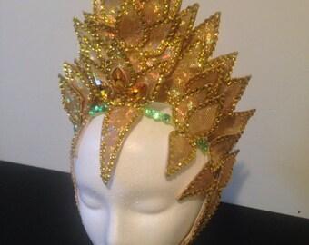Samba Crown-Gold Leaf Appliques