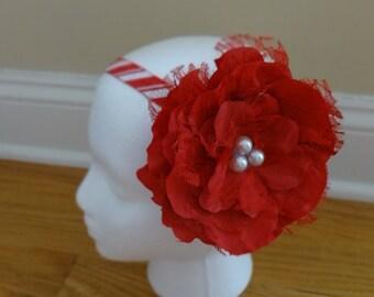 Beautiful Christmas Flower Headband