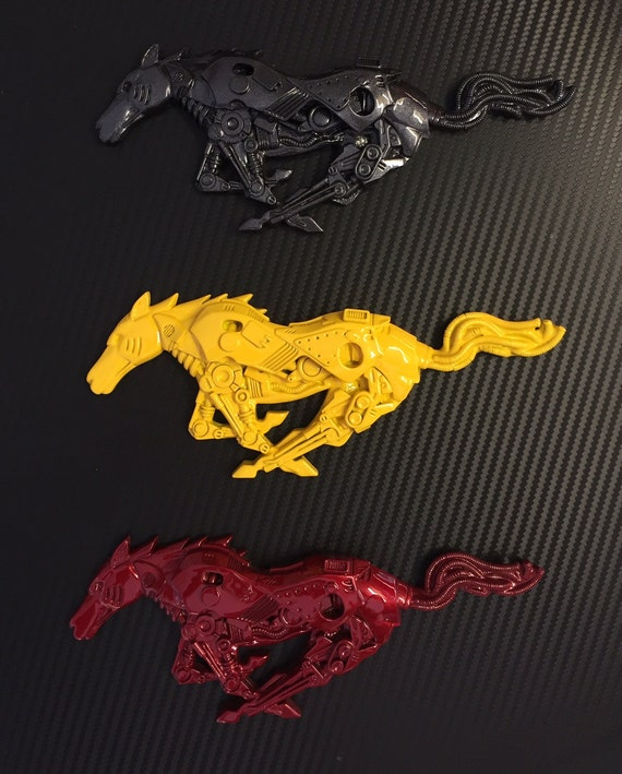 Ford Mustang Custom Pony Emblem 2005 To 2009