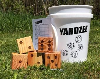 Yardzee - Yard Yahtzee Game - Lawn Dice
