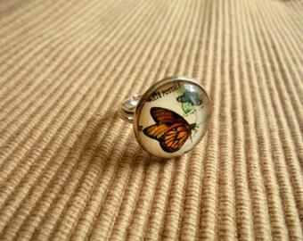 Ring, Schmetterling(1886)