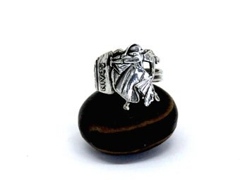 bull fighter ring , matador ring, spain  ring,  spoon ring,  spaniard ring,