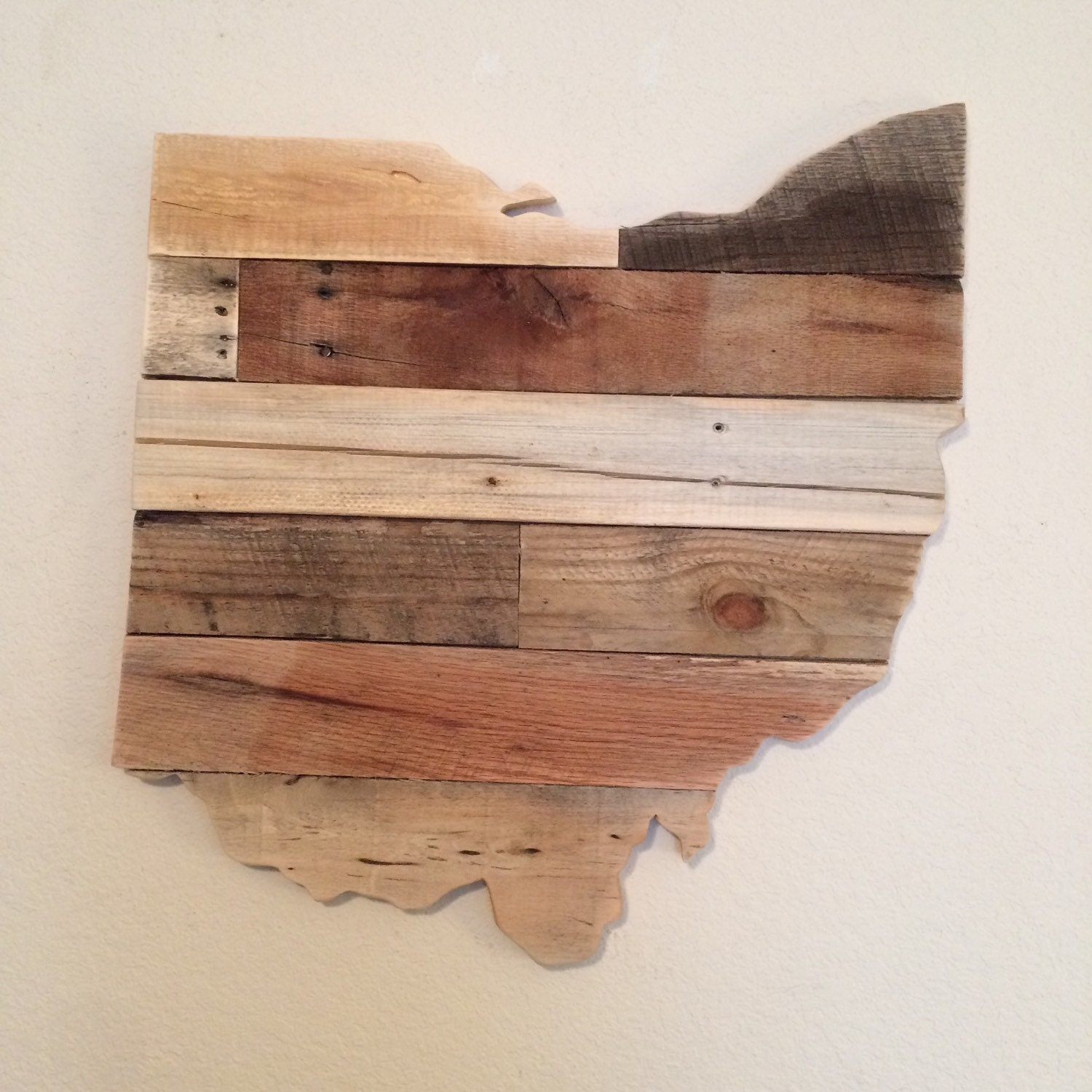 Reclaimed Wood Signs: Reclaimed Wood Ohio Sign