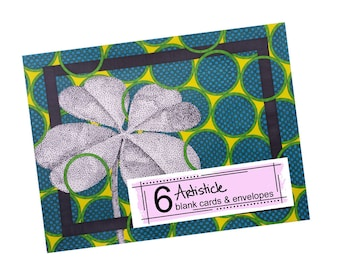 Clover Note Cards - St Pattys Day - Saint Patricks Day - Blank Greeting Cards - Irish Stationery - 4 Leaf Clover - Pack of Cards - Holiday