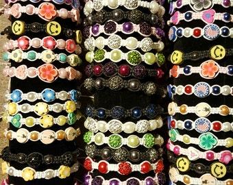 Adjustable Beaded Bracelets