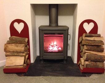 Indoor log holders