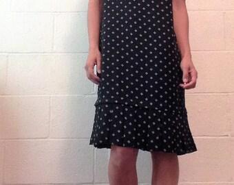 A vintage smock dress