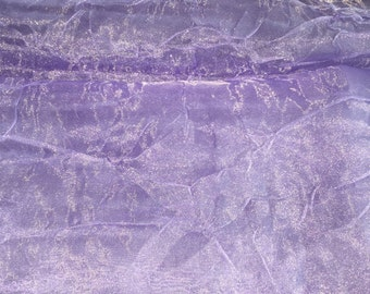 Lavender sparkle organza diaper cover