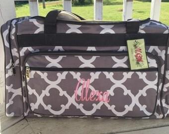 Personalized  Duffle bag, Duffle, Monogram Duffle Bag, Name or Initials, Large Duffle Bag, Gift Idea, Luggage Bag, Duffle, Sports
