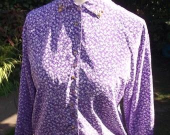 Vintage reworked blouse