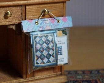 Dolls House Miniature Patchwork Quilt Kit