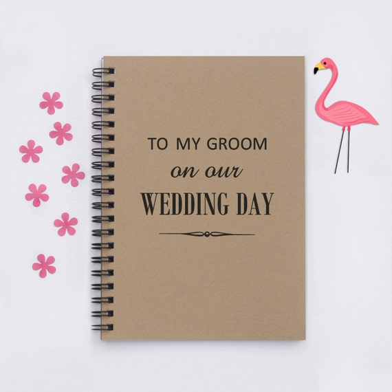Sentimental Gift For Groom On Wedding Day : Wedding Day gift, To My Groom on Our Wedding Day, 5