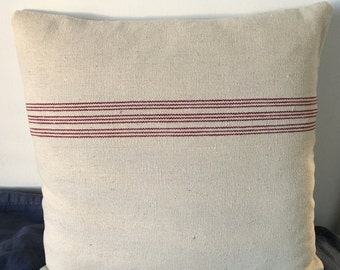 French linen Sack Cushion Covers