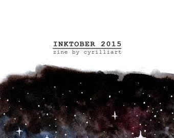 Inktober 2015 Art Zine
