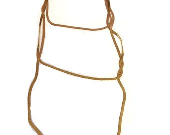 Vintage Gold Chain Layer Necklace