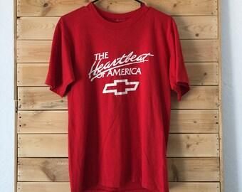 Vintage Chevy Shirt // Vintage Chevy Shirt // Chevy Lover Shirt