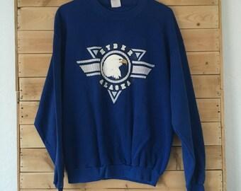 Vintage Hyder Sweatshirt // Vintage Alaska Sweatshirt // Vintage Eagle Sweater