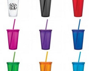 Personalized tervis tumbler 16 oz. - MANY COLORS