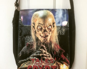 Tales From the Crypt Inspired Messenger Bag / Purse