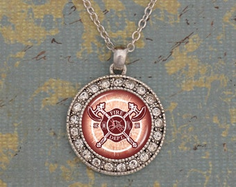 Firefighter Artisan Necklace - OTFRF47283