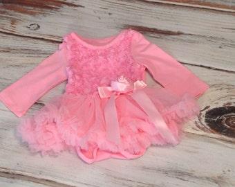 Baby First Birthday, dress, Toddler,BabyGirl Tutu dress, Cake smash dress, pettiskirt, Wedding, Birthday dress, Onesie Tutu