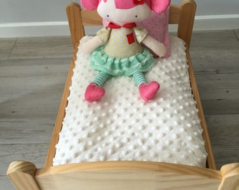 Mattress and Mattress Cover for a Doll's Bed