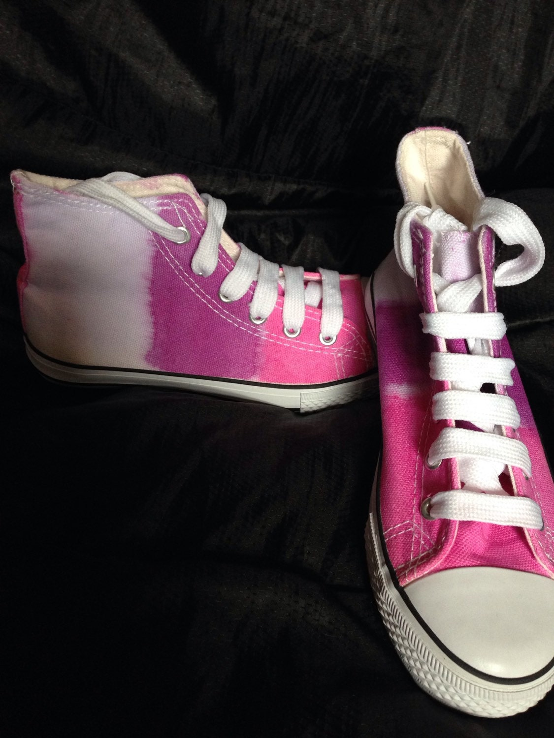 tie dye canvas shoes tie dye boots by theredowlco