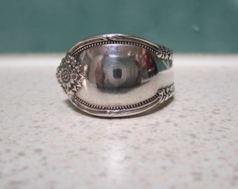 Vintage Spoon Ring - Size 6/M
