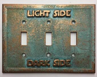 Star Wars (Light/Darkside) Triple Light Switch Cover