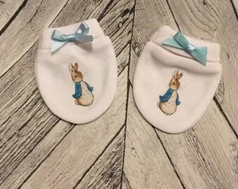 Peter Rabbit Baby Scratch Mitts