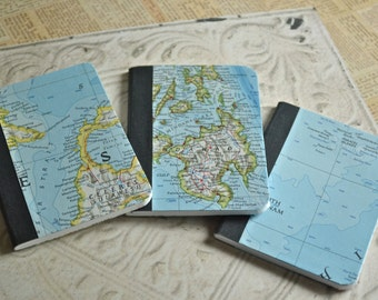 Philippines, Indonesia, Vietnam - Geographic Notebook Set - Embellished Notebook Gift Set