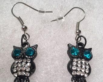 Adorable Owl Earrings