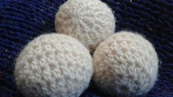 Beginner Crochet Ball Pattern : Crochet Wool Dryer Ball Pattern PDF