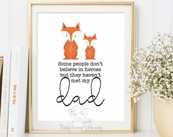 Printable father's day quote gift for dad Printable Fathers day gift print wall art decor printable dad wall art gifts home decor 3-120