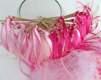 20 ribbon wands Princess