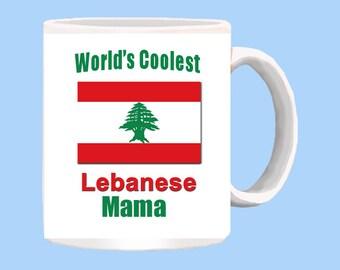 World's Coolest Lebanese Mama mug