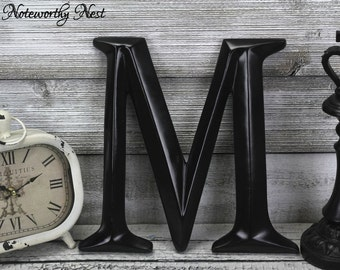 Letter M Home Decor Extraordinary Letter M  Etsy Decorating Inspiration