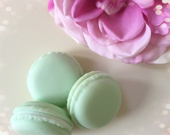 Mini Macaron Storage Pot...Aqua