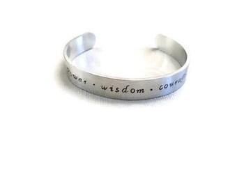 Legend of Zelda ocarina of time bracelet cuff bangle aluminum silver tone polished
