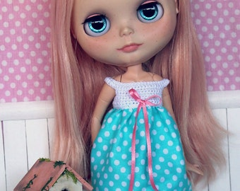50% discount for Blythe set [blouse + bloomers]