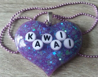 Kawaii Word Necklace