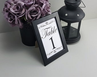 Wedding Decor, Place settings, Printed Place setting, Framed place setting, Table numbers, Decorative, Centerpiece, Dinner setting, T01