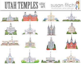 Temple clip art   Etsy