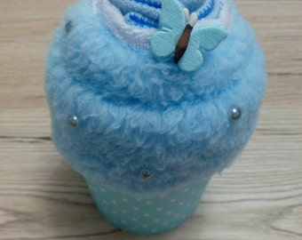 Baby boy cupcake gift set - Newborn