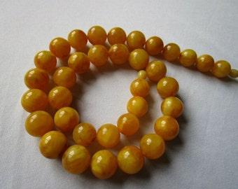 76g Butterscotch Necklace Bernsteinkette baltic amber Bernstein 老琥珀 Collier